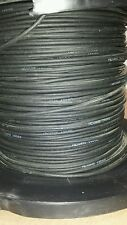 ( 25 FT ) Nexans XALC16062 Black Cable Wire 2/C 600V