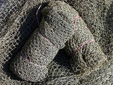 Authentic~ NO SMELL~ Used Nylon Fish Netting~Fishing Nets 95-105 sq. ft. 32.95