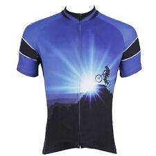 Conquerors Cycling Sport Jerseys Men's Bicycle Clothing Mountain Bike Shirts Top