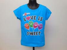 """NEW AIR HEADS """"LOVE IS SWEET"""" CANDY GRAPHIC TEE YOUTH GIRLS SIZE 5 T-SHIRT 67HK"""