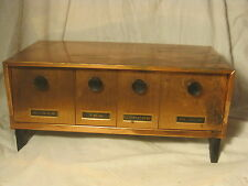 vintage SPECO retro sugar tea coffee flour kitchen footed metal cabinet box