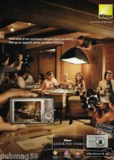 Publicité advertising 2007 Appareil photo Nikon Coolpix S500
