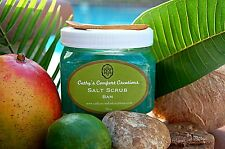 Body Salt Scrub 16oz -BAM© Home Spa Bath