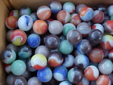1000 MIXED VINTAGE VITRO AGATE MARBLES  FROM A LARGE MIXED LOT $125.00