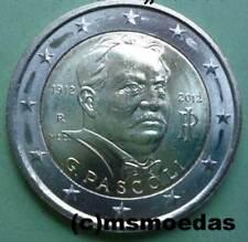 Italien 2 Euro Gedenkmünze 2012 Pascoli Euromünze commemorative coin