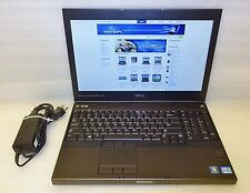 Dell Precision M4700 laptop 2.7ghz QUAD core i7 8GB Ram 250gb SSD Windows 10 Pro
