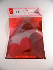 36 In x 44 In Cello Bag & Bow Valentines Day Weddings Gift Wrapping Decoration