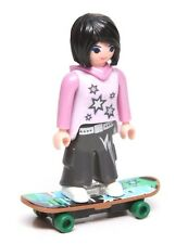 Playmobil Figure Mystery Series 9 Dollhouse Teen Young Woman Skateboard 5599 NEW
