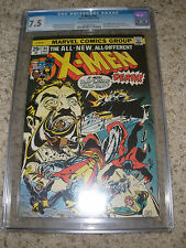 The X-Men #94 1975 Marvel CGC 7.5 OW/WHT pgs. Wolverine Colossus Nightcrawler