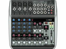 Behringer Xenyx Q1202usb Premium 12 Entrada 2 Bus Mezclador Con Usb/audio Interface