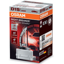 OSRAM Xenarc Night Breaker Unlimited +70% Light D1S Xenon HID Car Bulb (Single)
