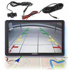 "XGODY 7"" Car GPS Navigation Sat Nav+Rearview Camera+Bluetooth AV-IN 8GB New Maps"