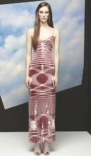 MISSONI Red White Sequin Dress Gown 42 6