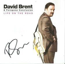 David Brent & Foregone Conclusion Autographed Life On The Road CD