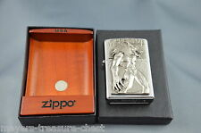powerful ZIPPO Werewolf - Special collectible Edition luxury wooden inlay box