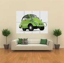 BMW ISETTA VINTAGE CLASSIC CAR NEW GIANT ART PRINT POSTER PICTURE WALL G1314