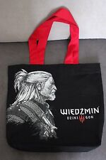 OFFICIAL THE WITCHER WILD HUNT reusable carrying BAG GERALT  RARE!!!!