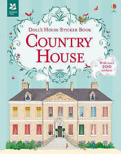 Country House Sticker Book (Doll's House Sticker Books), Megan Cullis, New Book