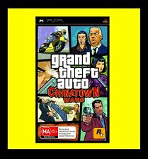 Grand Theft Auto: Chinatown Wars Sony PSP Brand New