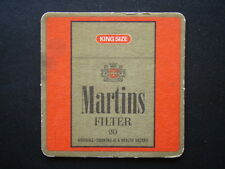 MARTINS FILTER 20 KING SIZE QUALITY YOU CAN TRUST COASTER