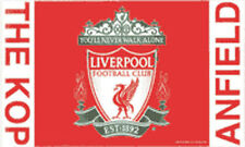 LIVERPOOL THE KOP ANFIELD FLAG 5' x 3' Official Football Club FC Team Flags