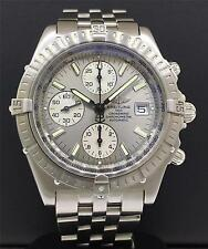Breitling Crosswind Automatic 44mm Stainless Steel Grey Matte Dial Finish A13355