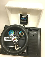 Colecovision Expansion Module 2 Steering Wheel Pedal w/ Turbo Game *Untested