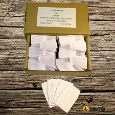500 2x2 White Paper Coin Envelopes - Acid and Sulpher Free - Safe for Coins