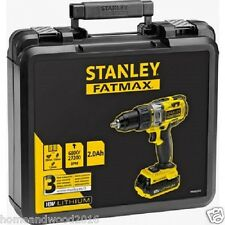 Stanley Fatmax Cordless Hammer Driver - 18V 2.0Ah