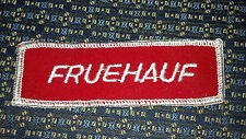 FRUEHAUF TRUCKING Sew-On Patch