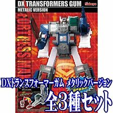 NEW Kabaya DX Transformers Gum Fortress Maximus Metallic ver. Model Kit Set of 3