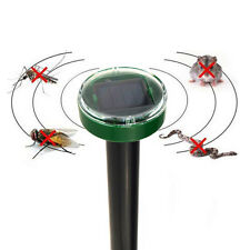 Solar Powered Electronic Ultrasonic Mice Bug Snake Repeller Reject Pest Control