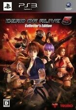 New PS3 Dead or Alive 5 Collector's Edition Import Japan