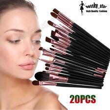 20PCS/Kit Pro Makeup Brush Set Cosmetic Makeup Brush Lip Eyeshadow Blush Brush A