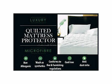 King Size Quilted Mattress Protector Sheet Matress Cover Machine Washable Gift
