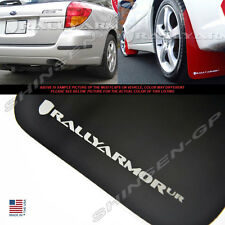 RALLY ARMOR UR BLACK MUD FLAPS FOR 05-09 SUBARU LEGACY OUTBACK w/ SILVER LOGO