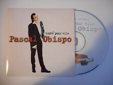 PASCAL OBISPO : TOMBE POUR ELLE / MA CONSOLATION [ CD SINGLE PORT GRATUIT ]