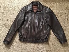 Marc New York, Andrew Marc Brown Leather Jacket