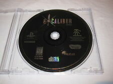 Excalibur 2555 A.D. (PlayStation PS1) Game in Plain Case Excellent~