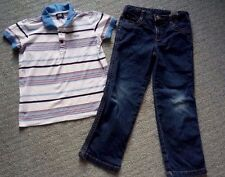Boys D&G jeans and polo shirt age 6 years in good condition