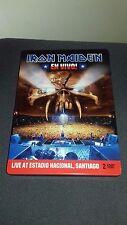 Iron Maiden - En Vivo! 2012 x2 double dvd booklet steel book as new Steve Harris