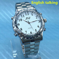 English Language Talking Watch For Blind People Or Visually Impaired People