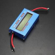Digital LCD Watt Meter Battery Voltage Current Power Analyzer Tester 60V/100A RC