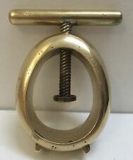 Carl Auböck Brass Nut Cracker Rare Collectible Vintage Collector's Item