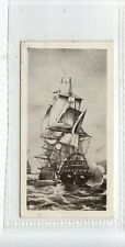 (JD1599-100)  DOMINION,OLD SHIPS,2ND SERIES,FLAGSHIP OF DUGUAY TROUIN,1935,#1