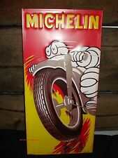 MICHELIN TIRES METAL SIGN wheel vintage-style auto car emblem logo truck rim man