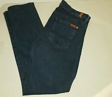 Seven 7 for all mankind high waist straight leg Size 32x31  EUC