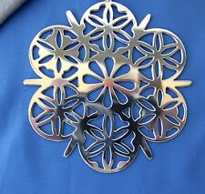 MMA 1984 Sterling Silver Snowflake Christmas Ornament