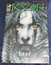LONDON NIGHT COMICS RAZOR UNCUT #33  FEB 1997 FIRST PRINTING COMIC BOOK