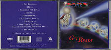 SURE CONVICTION: GET READY CD RARE CHRISTIAN HARDROCK 1995 GIANT RECORDS